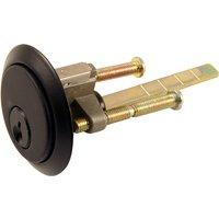 Kirkpatrick Matt Black Rim Cylinder 5142