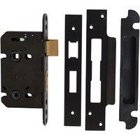 Kirkpatrick Black Bathroom Lock