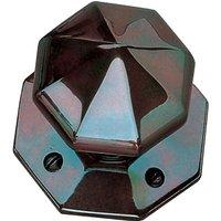 Solid Bronze 77mm Octagonal Door Knobs
