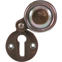 Solid Bronze Covered Keyhole Cover 32mm