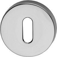 Chrome Round Key Hole Cover 52mm