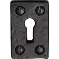 Tudor TC544 Cast Iron Key Escutcheon 49x31mm