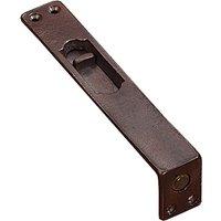 Traditionally Cast Bronze Flush Door Bolt 305x25mm