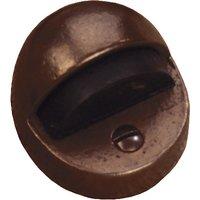 Traditionally Cast Bronze Door Stop 48x31mm
