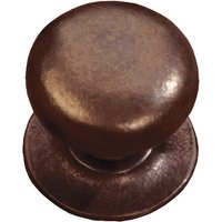 Traditionally Cast Bronze Bun Style Cabinet Knob