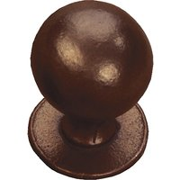 Traditionally Cast Bronze Ball Style Cabinet Knob