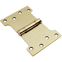 Grade 13 PVD Stainless Steel Parliament Projection Hinge 102x100x152mm In Pairs