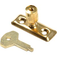 Brass Plated Locking Window Stay Pin 116