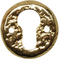Antique Cast Brass Range EURO PROFILE Cylinder Cover 1401
