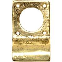 Antique Cast Brass Range Door Pull 89x51mm 1485