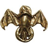 Antique Cast Brass Range Bat Design Bedroom Door Knocker 2621