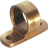 Brass Antiqued Finish Sash Window Lift Ring 25mm