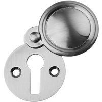 Polished Pewter Covered Escutcheon