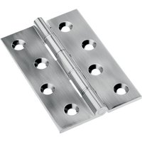 Polished Pewter Butt Hinge 76x50mm In Pairs