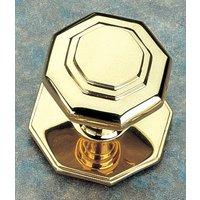 Brass Unlacquered 70mm Centre Door Knob
