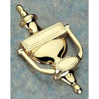 Brass Unlacquered Traditional Door Knocker 190mm