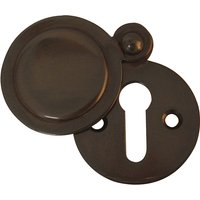 Dark Bronze Key Hole With Cover 32mm