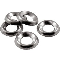 Pack of 100 Surface Screw Cup Washers Nickel