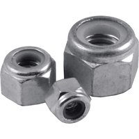 Pack of 10 Nylon Insert Nuts Type P BSW