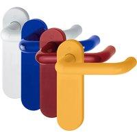 Coloured Nylon Paris Lever Latch Handles