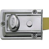 Yale Lock Polished Chrome 77
