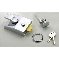 Double Locking Yale Front Door Lock 89 Polished Chrome