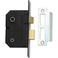 Assa Abloy 2.5IN Bathroom Mortice Lock Chrome