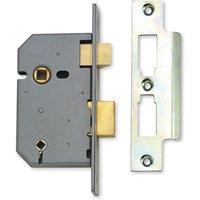 Assa Abloy 2.5IN Heavy Duty Bathroom Mortice Lock Matt Chrome
