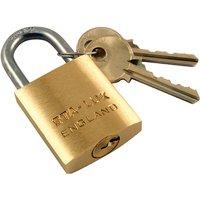 Brass Padlock 1.1/2in