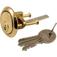 Asec Brass Rim Lock Spare Cylinder