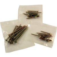 Pack of 10 Yellow CSK Chipboard Screws