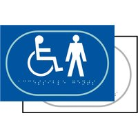 Touch Notice Disabled Male