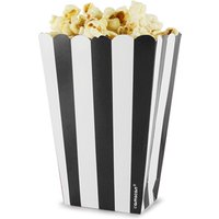 Candy Buffet Popcorn Treat Boxes Black (Pack of 5)