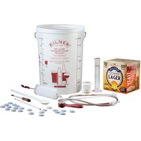 Kilner Drink Works Complete 40 Pint Lager Home Brew Kit