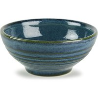 Churchill Bit on the Side Ripple Snack Bowl Sapphire 6oz / 170ml (Case of 12) - Bowl Gifts