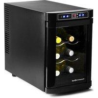 Sommelier 6 Bottle Wine Chiller Cellar Black - Wine Gifts