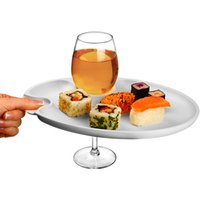 Wine and Dine Party Plate (Case of 24) - Wine Gifts