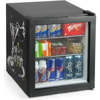 Custom Printed Frostbite Mini Fridge 49ltr Black (Two Sided Print) - Custom Gifts
