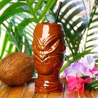 Click to view product details and reviews for Tiki Headhunter Mug Brown 176oz 500ml Case Of 36.