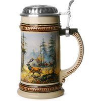Muhleck Wild Stag Ceramic Beer Stein 17.6oz / 500ml - Stag Gifts