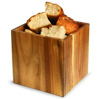 Acacia Wood Buffet Display Riser 15.3 x 15.3cm (Single)