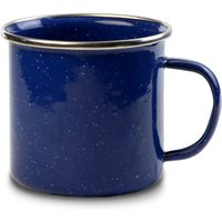 Strider Blue Enamel Mug with Stainless Steel Rim 14oz / 400ml (Case of 6) - Gadgets Gifts
