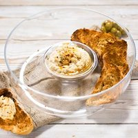 Entertain Chip and Dip Bowl