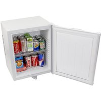 ChillQuiet Silent Mini Bar Fridge 24ltr White - Gadgets Gifts