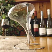 Wine Decanter with Drying Stand (Case of 6)