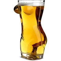 Sexy Torso Beer Glass 2.75 Pint (Case of 8)