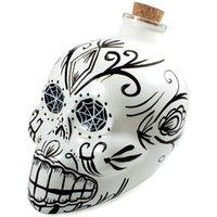 Day of the Dead Skull Decanter White - Skull Gifts
