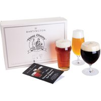 Dartington Three Cheers for Beers! Craft Beer Glasses Gift Set - Glass Gifts