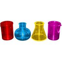 Chemistry Shot Glass Set 1oz / 30ml (Pack of 4) - Chemistry Gifts