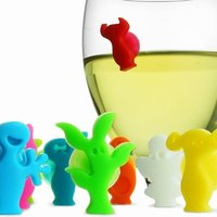 VacuVin Party People Glass Markers - Wine Gifts